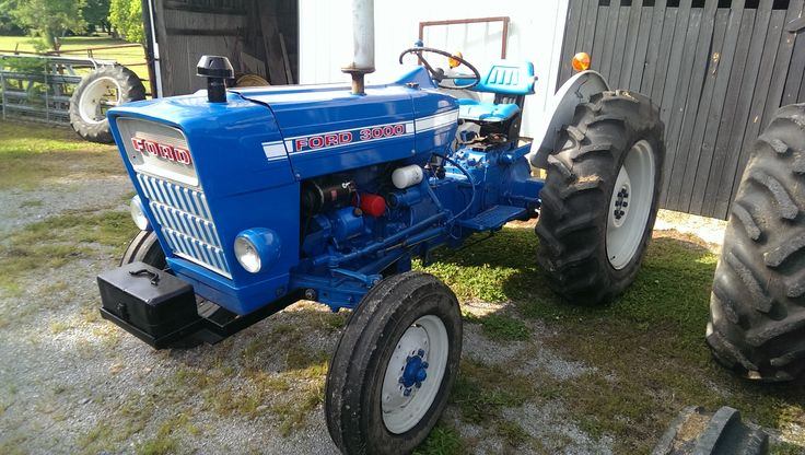 ford 3000 tractor workshop manual