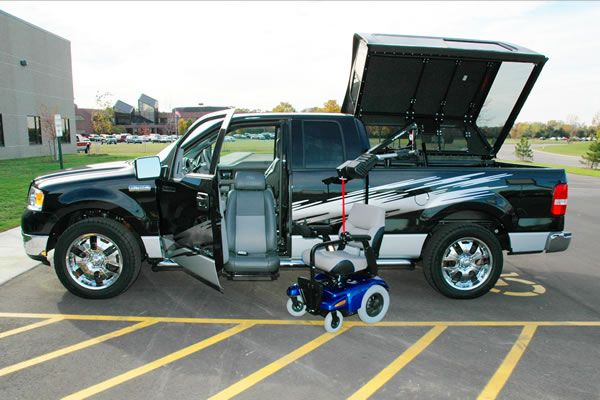 manual wheelchair lift for suv