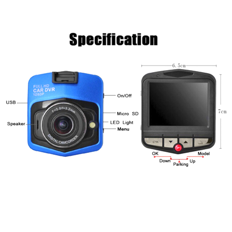 gt300 dash cam user manual