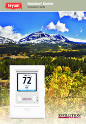 bryant programmable thermostat with humidity control manual